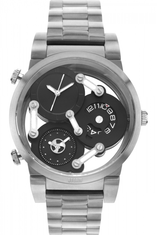 Mens Storm Tri-Mez Watch TRI-MEZ-BLACK