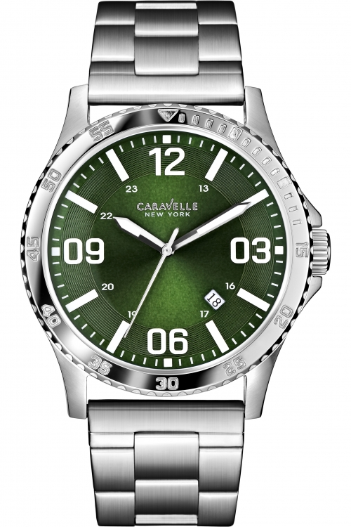 Mens Caravelle New York Logan Watch 43B129