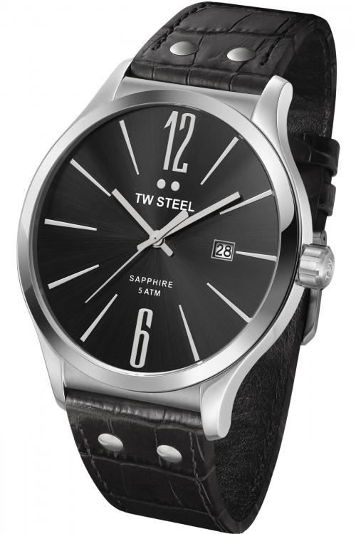 Mens TW Steel Slim Line 45mm Watch TW1300