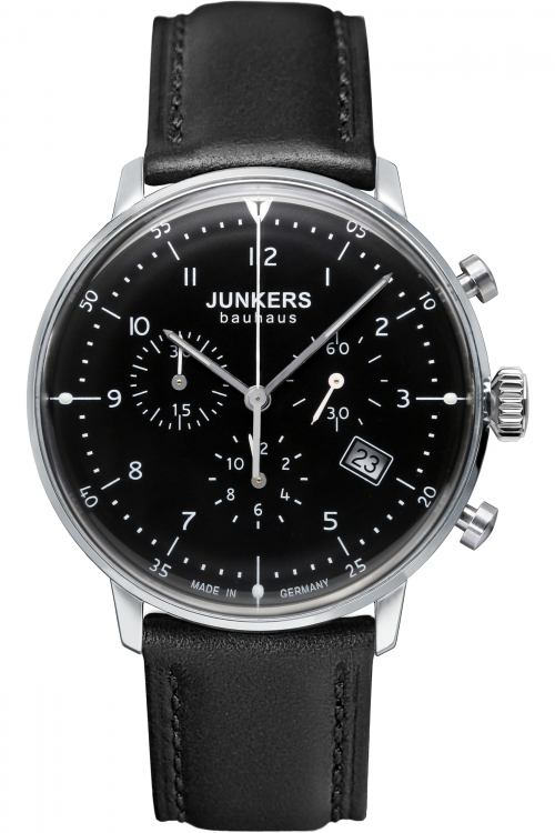 Mens Junkers Bauhaus Chronograph Watch 6086-2