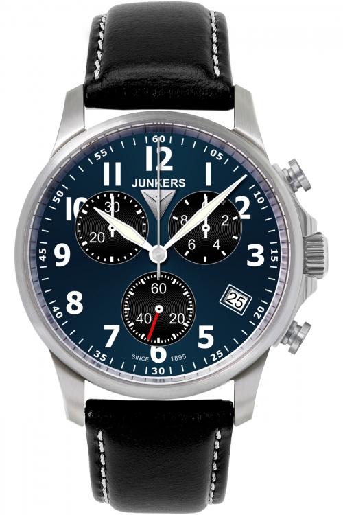 Mens Junkers Tante Ju Chronograph Watch 6890-3