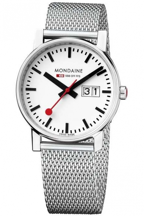 Ladies Mondaine Swiss Railways Big Date Watch