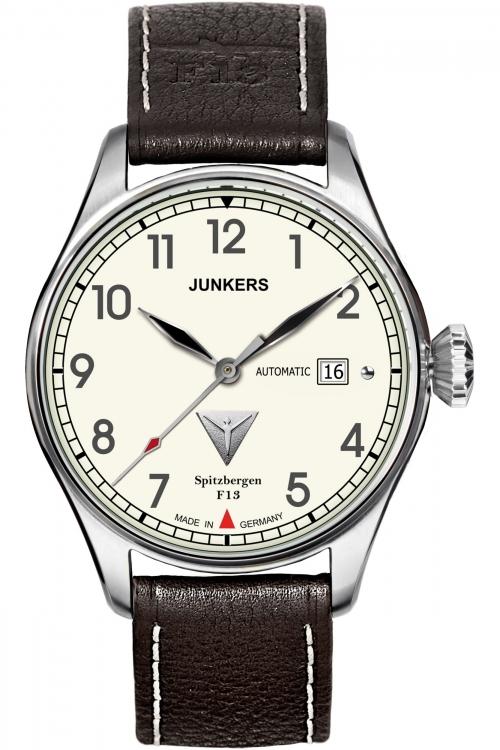 Mens Junkers Spitzbergen F13 Automatic Watch 6164-5