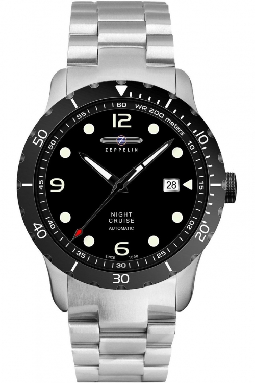 Mens Zeppelin Night Cruise Automatic Watch 7264M-2