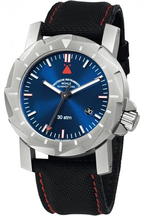 Mens Muhle Glashutte Kampfschwimmer Automatic Watch M1-28-92-NB