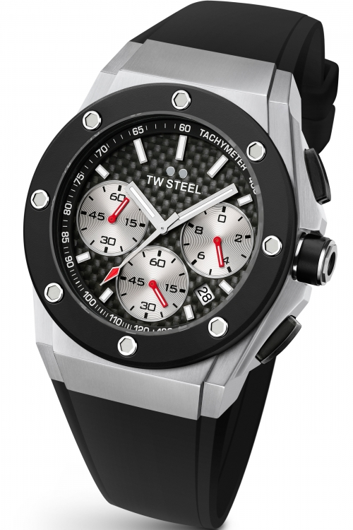 Mens TW Steel David Coulthard Edition Chronograph 44mm Watch CE4019