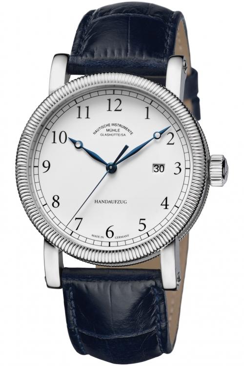 Mens Muhle Glashutte Teutonia III Handaufzug Mechanical Watch M1-08-01-LB