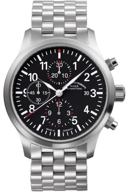 Mens Muhle Glashutte Terrasport I Automatic Chronograph Watch M1-37-74-MB