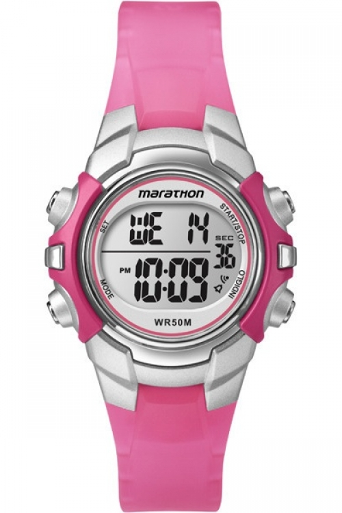 Ladies Timex Indiglo Marathon Alarm Chronograph Watch