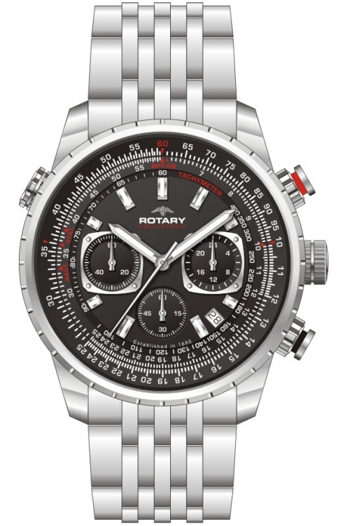 Mens Rotary Exclusive Chronograph Watch GB00185/04