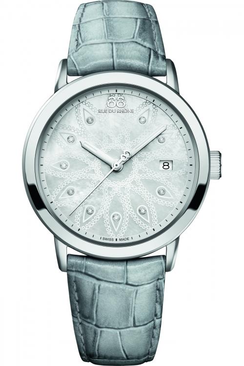 Ladies 88 Rue Du Rhone Double 8 Origin 39mm Diamond Watch