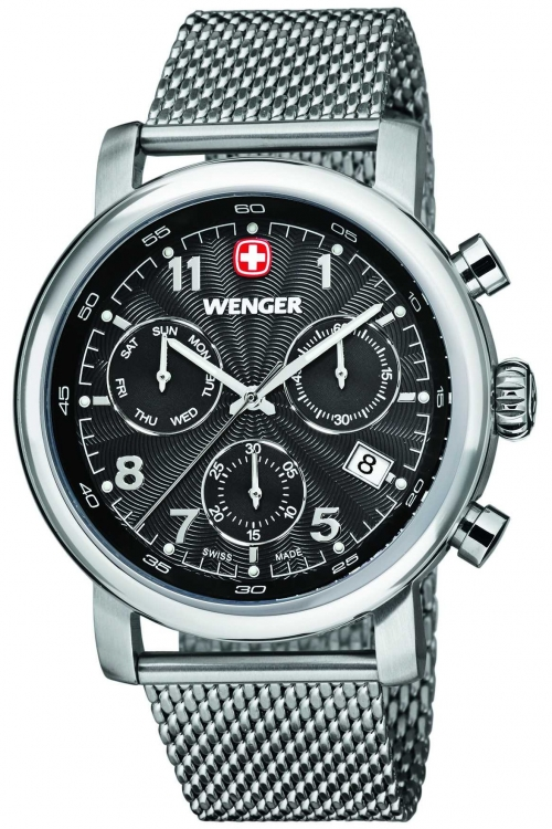 Mens Wenger Urban Classic Chronograph Watch 11043102