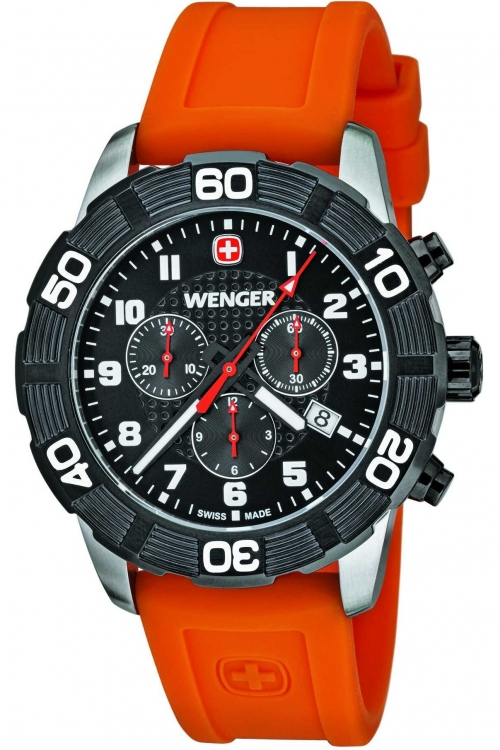 Mens Wenger Roadster Chronograph Watch 10853103