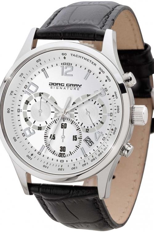 Mens Jorg Gray Signature Chronograph Watch JGS3560