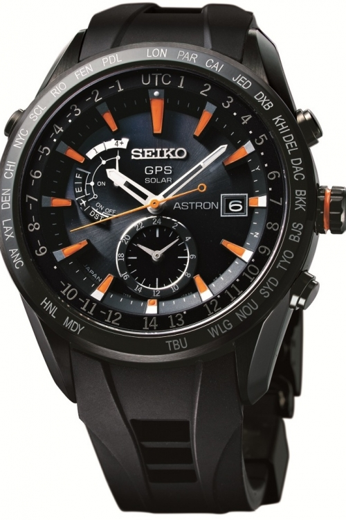 Mens Seiko Astron GPS Radio Controlled Solar Powered Watch SAST025G