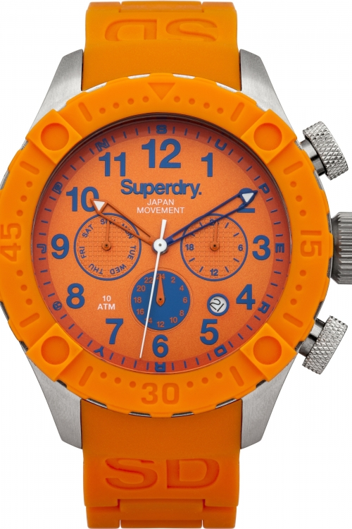 Mens Superdry Scuba Deepsea Multi Watch SYG142O