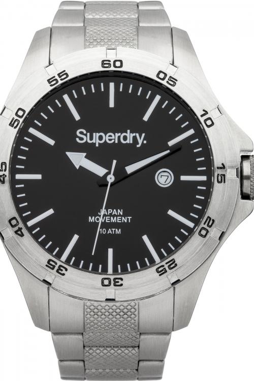 Mens Superdry Adventurer Steel Watch SYG147BSM