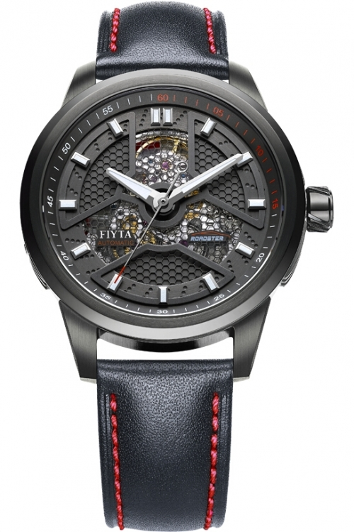 Mens Fiyta Extreme Roadster Skeleton Automatic Watch WGA1008.BBB