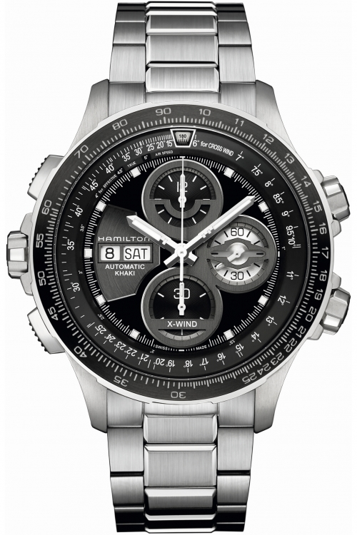 Mens Hamilton Khaki X-Wind Limited Edition Automatic Chronograph Watch H77766131