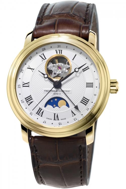 Mens Frederique Constant Classics Moonphase Heart Beat Automatic Watch FC-335MC4P5