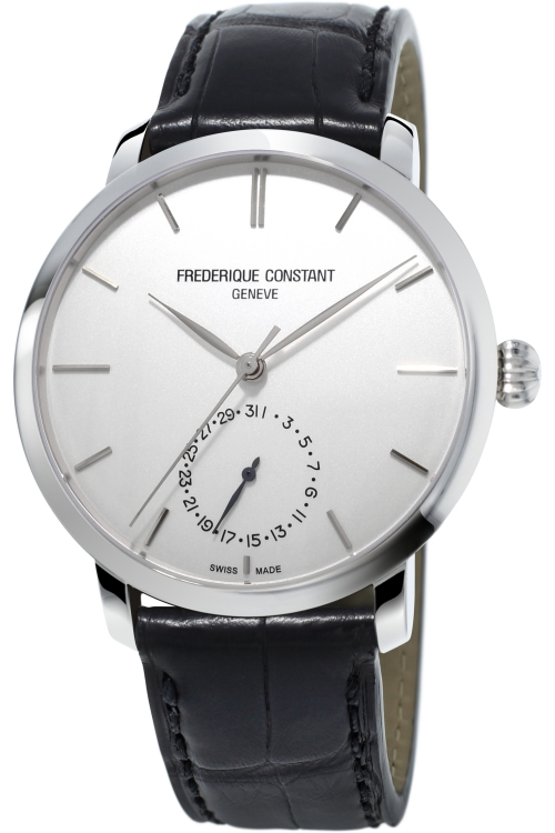 Mens Frederique Constant Slim Line Manufacture Automatic Watch FC-710S4S6