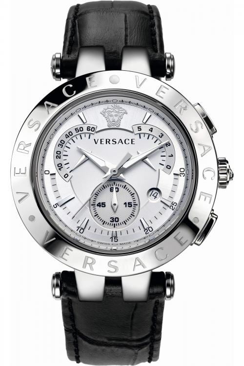 Mens Versace V-Race Chronograph Watch 23C99D002S009