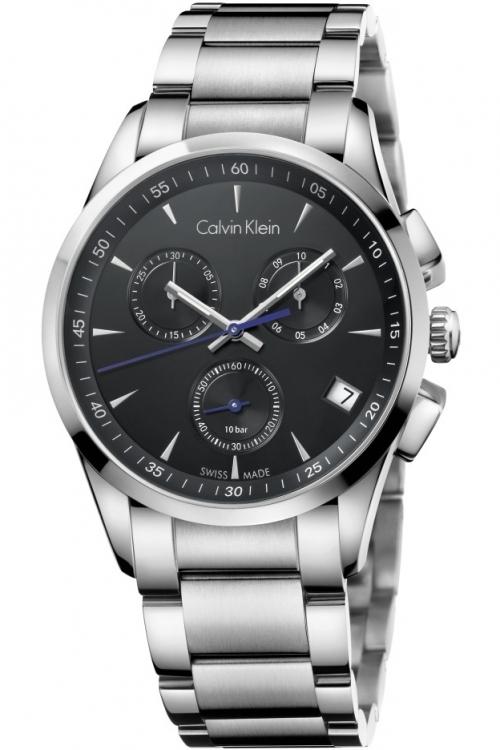 Mens Calvin Klein New Bold Chronograph Watch K5A27141