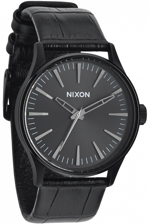 Mens Nixon The Sentry 38 Leather Watch A377-1886