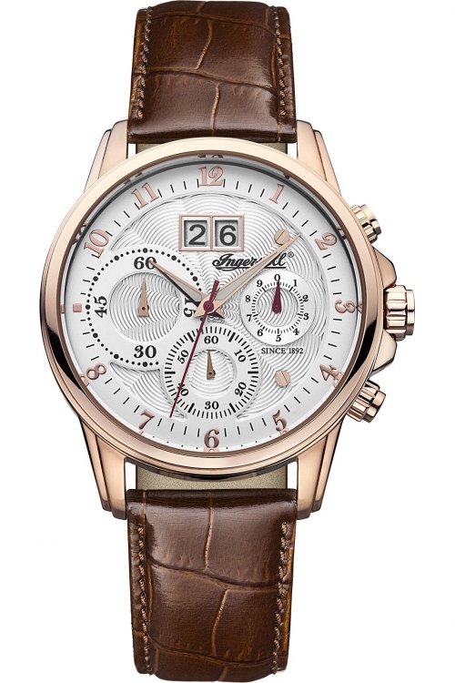 Mens Ingersoll Soho Chronograph Watch INQ015SLRS