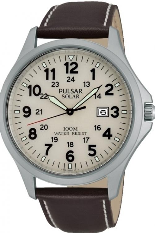 Mens Pulsar Sport Solar Powered Watch PX3007X1