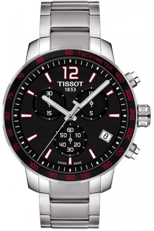 Mens Tissot Quickster Chronograph Watch T0954171105700