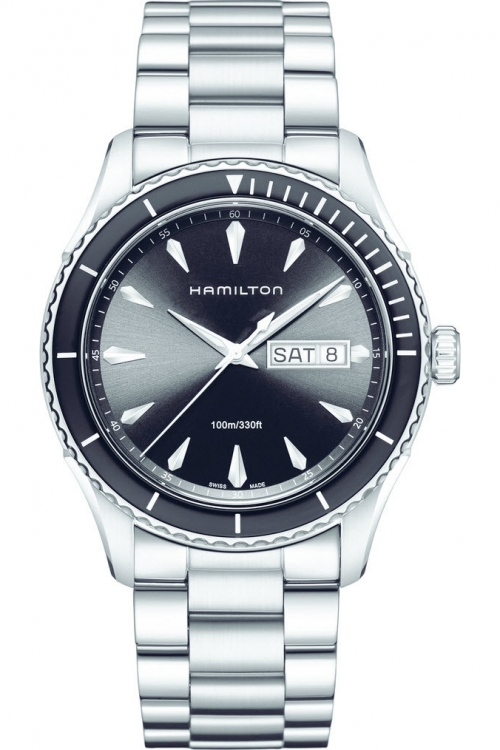 Mens Hamilton Jazzmaster Seaview 37mm Watch H37511131