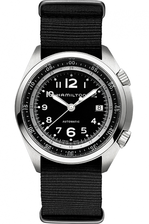 Mens Hamilton Khaki Pilot Pioneer Automatic Watch H76455733