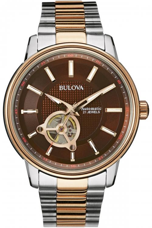 Mens Bulova Automatic Automatic Watch 98A140