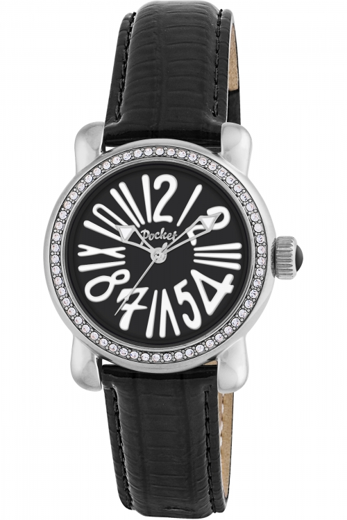 Ladies Pocket-Watch Rond Crystal Petite Watch