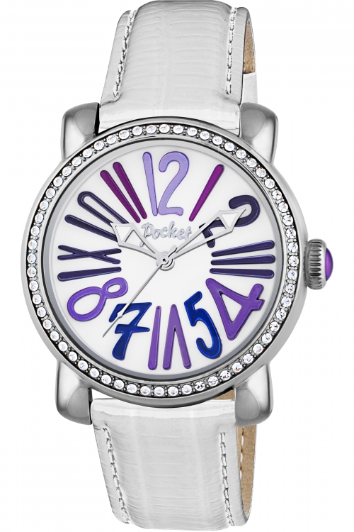 Ladies Pocket-Watch Rond Crystal Medio Watch