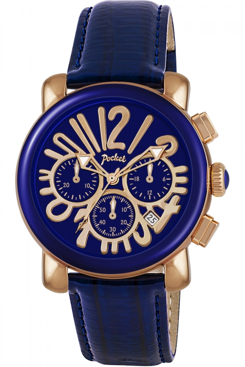 Ladies Pocket-Watch Rond Chrono Medio Chronograph Watch