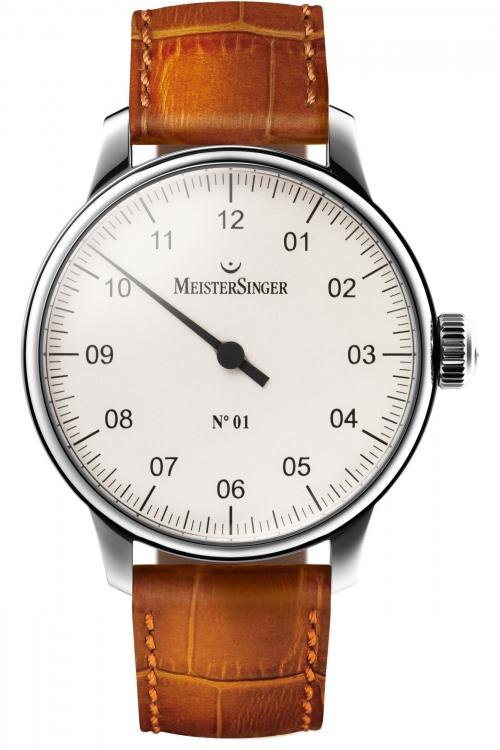 Mens Meistersinger No 01 Mechanical Watch AM3301