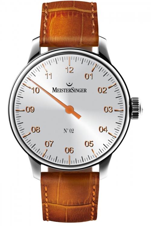 Mens Meistersinger No 02 Mechanical Watch AM6601G