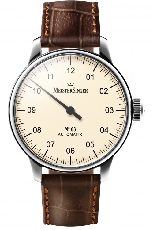 Mens Meistersinger No 03 Automatic Watch AM903