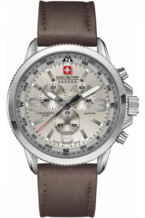Mens Swiss Military Hanowa Arrow Chronograph Watch 6-4224.04.030