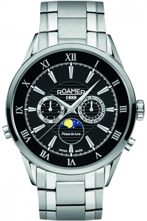 Mens Roamer Superior Moonphase Watch 5.09E+11