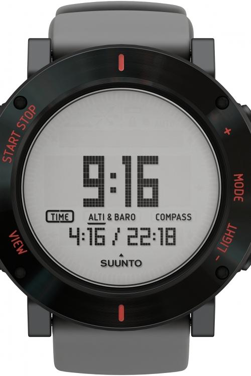 Mens Suunto Core Crush Grey Chronograph Watch SS020691000