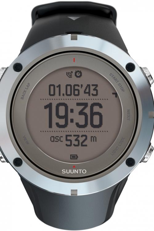 Mens Suunto Ambit 3 Peak HR Bluetooth GPS Chronograph Watch SS020673000
