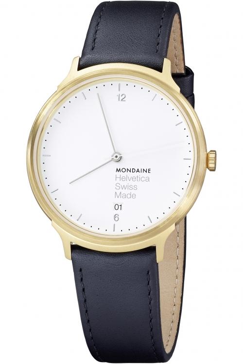 Mens Mondaine Helvetica No1 Watch MH1L2211LB
