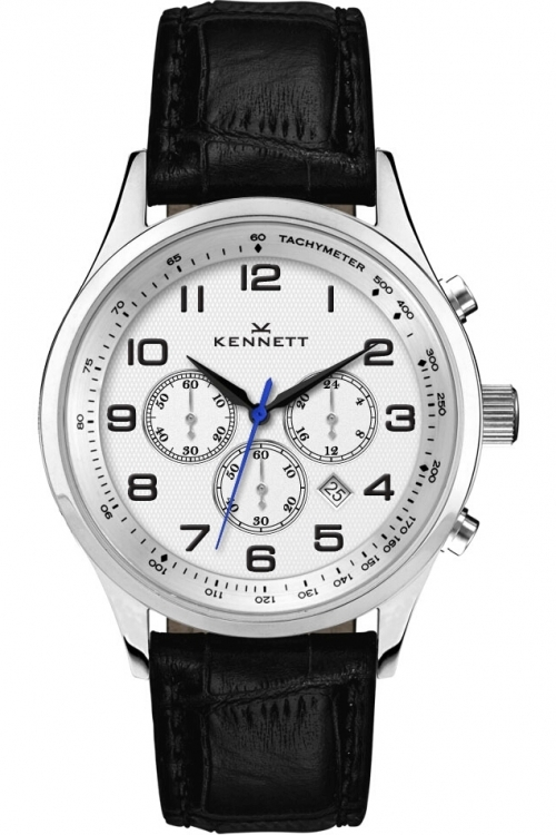 Mens Kennett Savro Modern Chronograph Watch SVSILWHBLMD