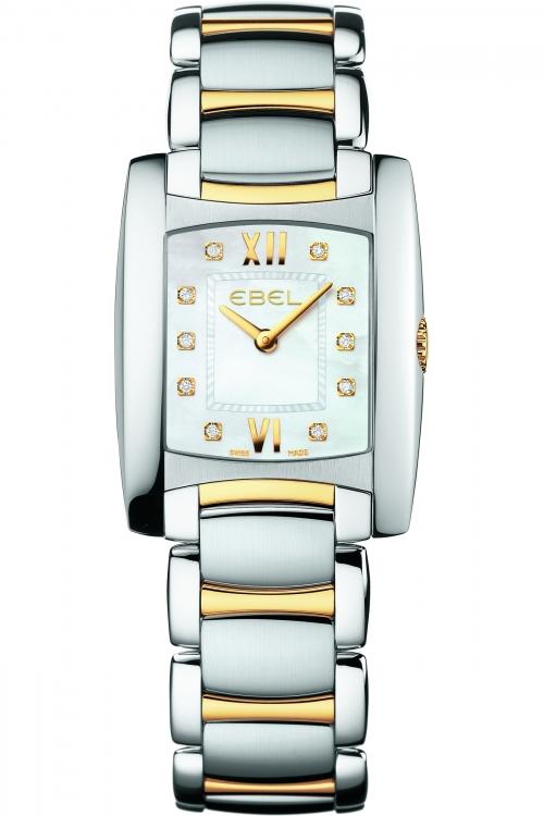 Ladies Ebel Brasilia 18ct Gold Diamond Watch