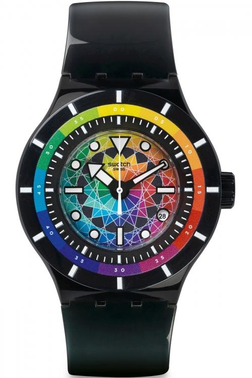 Mens Swatch Scuba-Libre - Chromatic Water Watch SUUB401