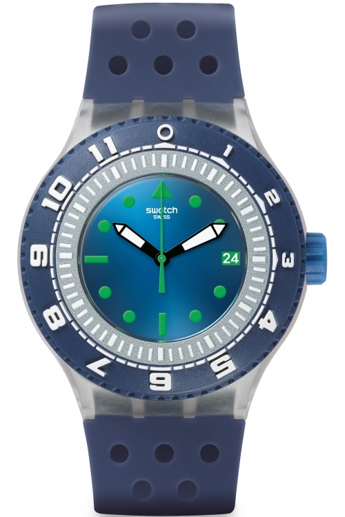 Mens Swatch Scuba-Libre - Flow Through Watch SUUK403