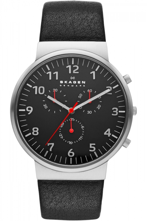 Mens Skagen Ancher Relaxed Chronograph Watch SKW6100